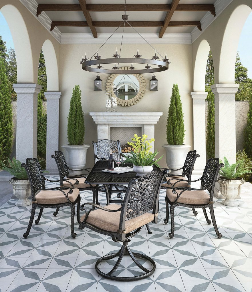 Rose View Patio Dining Set By Signature Design By Ashley