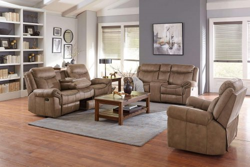knoxville reclining sofa & loveseat