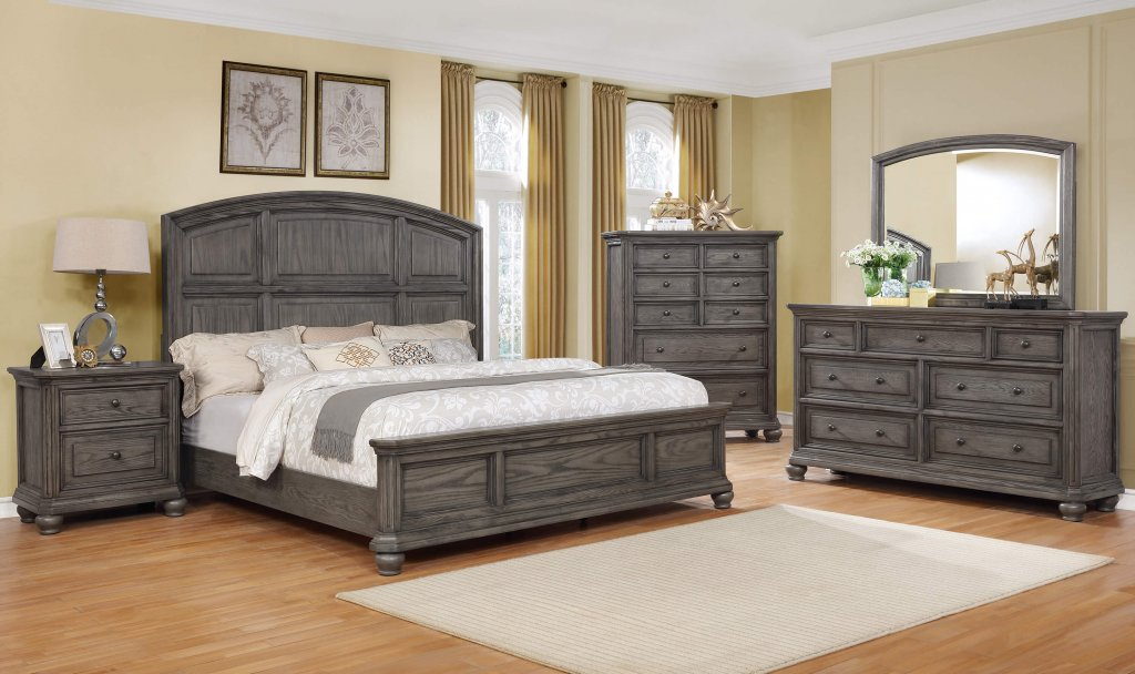 B1880 Lavonia Grey Bedroom Set