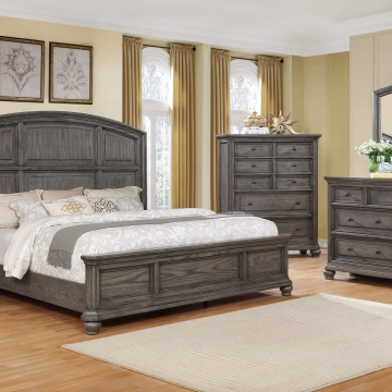 Lavonia Grey Bedroom Set