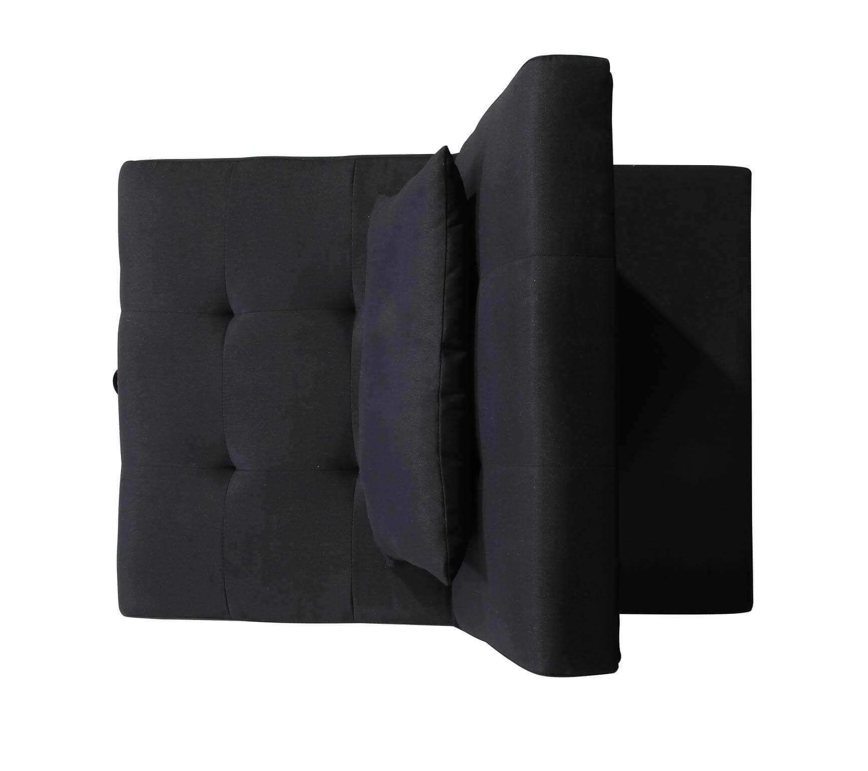 Randy Black Convertible Chair Urban Furniture Outlet