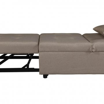 Randy Beige Convertible Chair