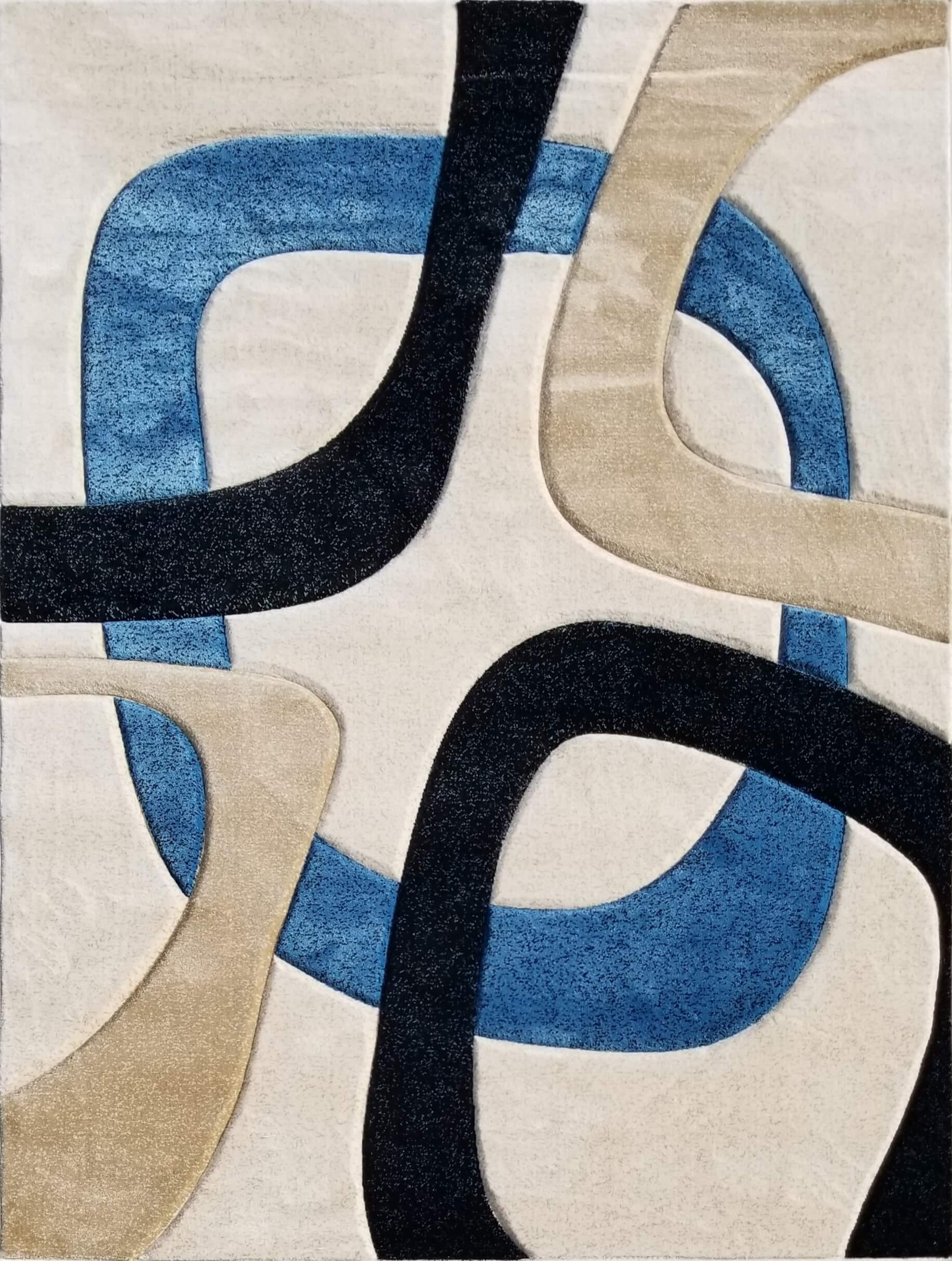 Pearl Blue Area Rug