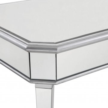 MIRRORED RECTANGLE COFFEE TABLE