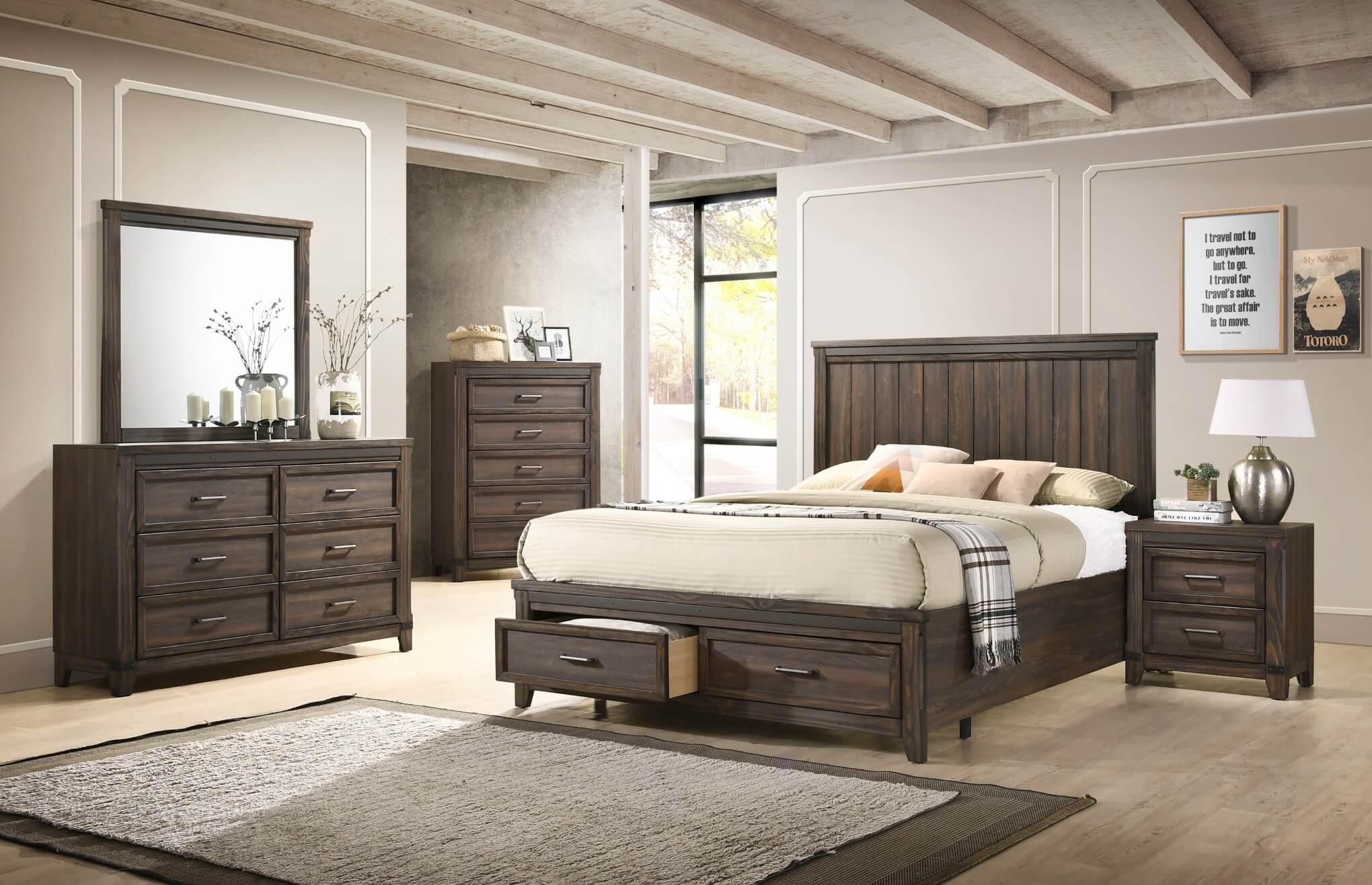 Presley Platform Bedroom Set Urban Furniture Outlet