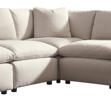 Dream Modular Ivory Sectional