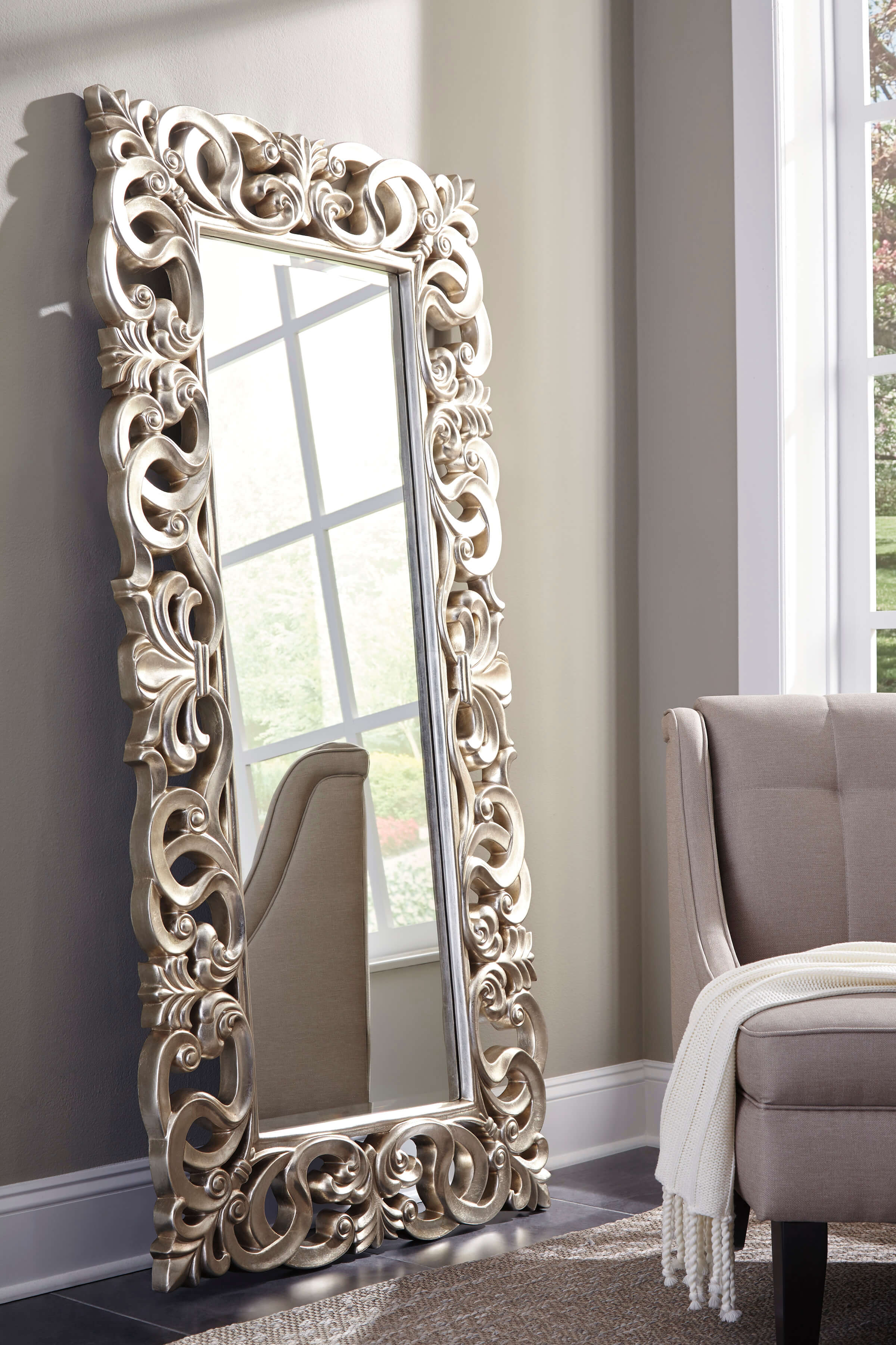 Lucia Accent Mirror Urban Furniture Outlet