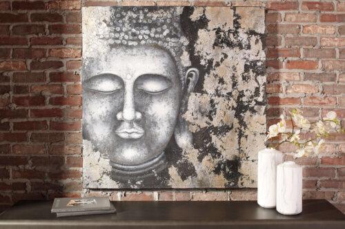donar buddha wall art