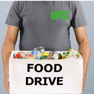UFO Holiday Food Drive 2018