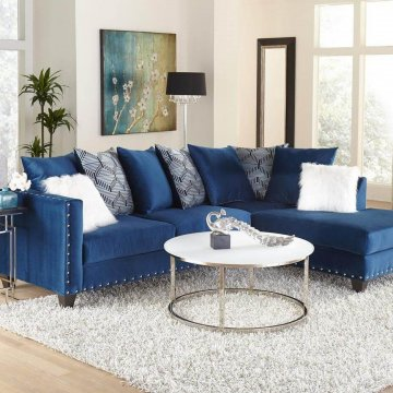4176 melon sapphire sectional