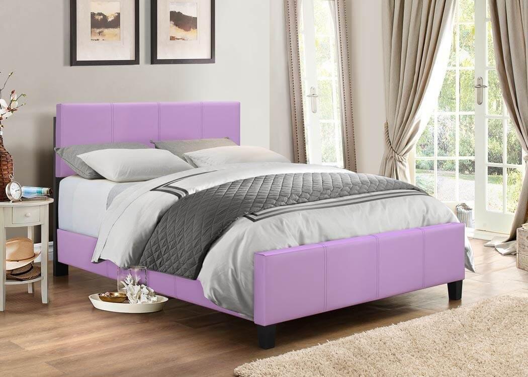 Purple Platform Style Bed Kid S Beds Urban Furniture Outlet