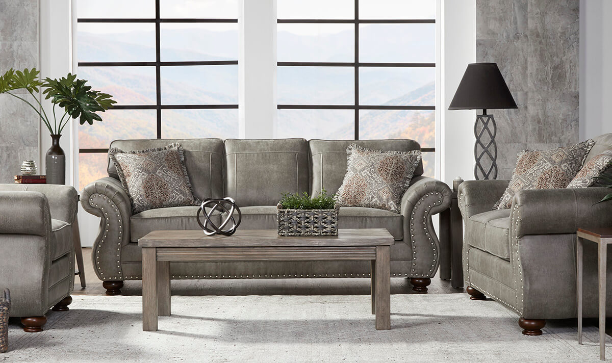 Goliath Mica Sofa And Loveseat Urban Furniture Outlet