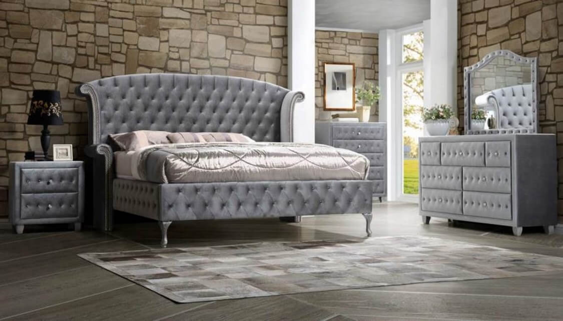 Deanna Glam Bedroom Set Urban Furniture Outlet