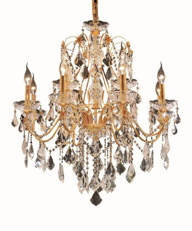 st francis gold chandelier