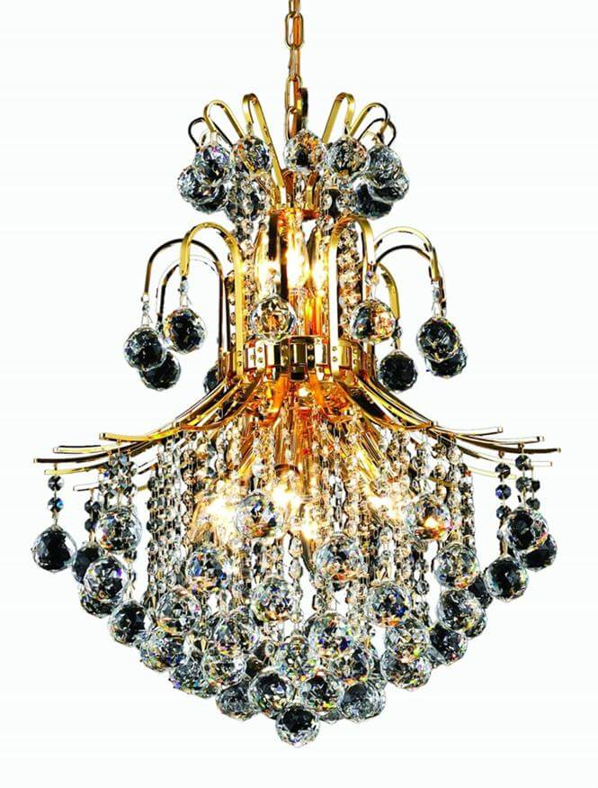 8002 toureg gold chandelier
