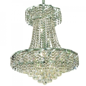 benelus chrome chandelier