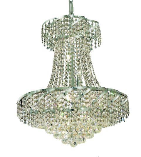 benelus chrome chandelier