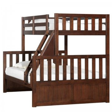 Mission Hills Chestnut Twin Full Bunk Bed