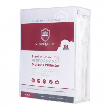 Slumbershield Smooth Top Premium Mattress Protector