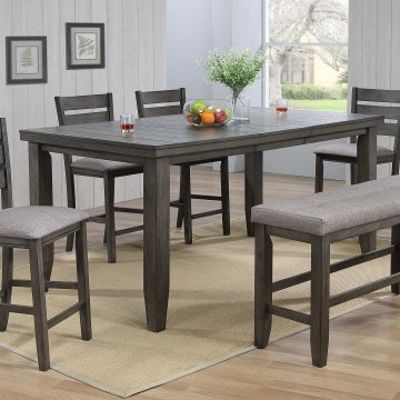 Bardstown Grey Crown Mark Counter Height Dining Set