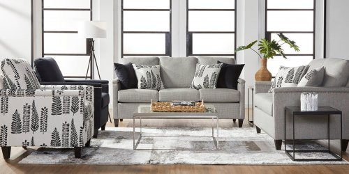 Caliente Peppershack Sofa and Loveseat