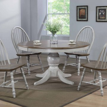 Jack Round Pedastal Dining Table Set
