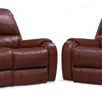 Magellan Reclining Sofa and Loveseat