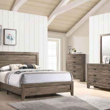 Millie Grey Bedroom Set