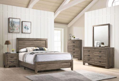B9200 Millie Grey Bedroom Set