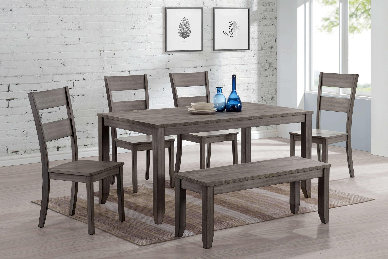 Sean Grey Dining Set Room, Grey Dining Room Set
