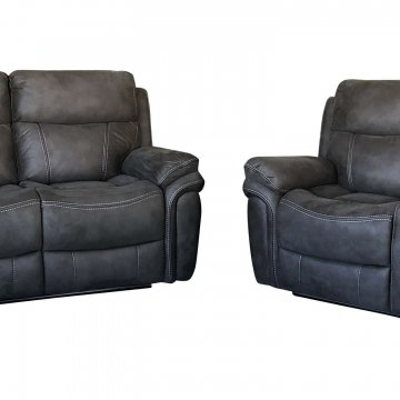 Mako Reclining Sofa and Loveseat