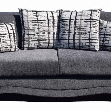 Venus Slate Sofa and Loveseat
