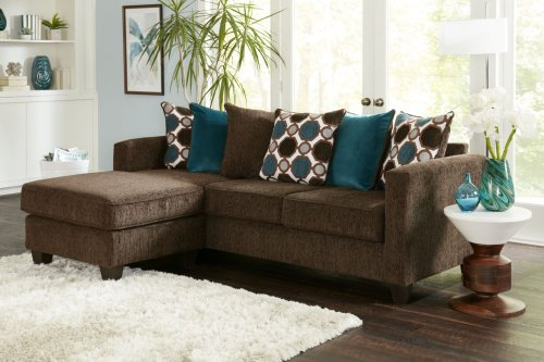 Carson Chocolate Sectional