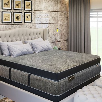 Dynasty Onyx Permatuft Euro Top Mattress