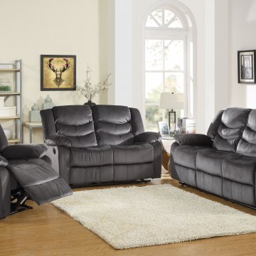 Justin Storm Reclining Living Room Set