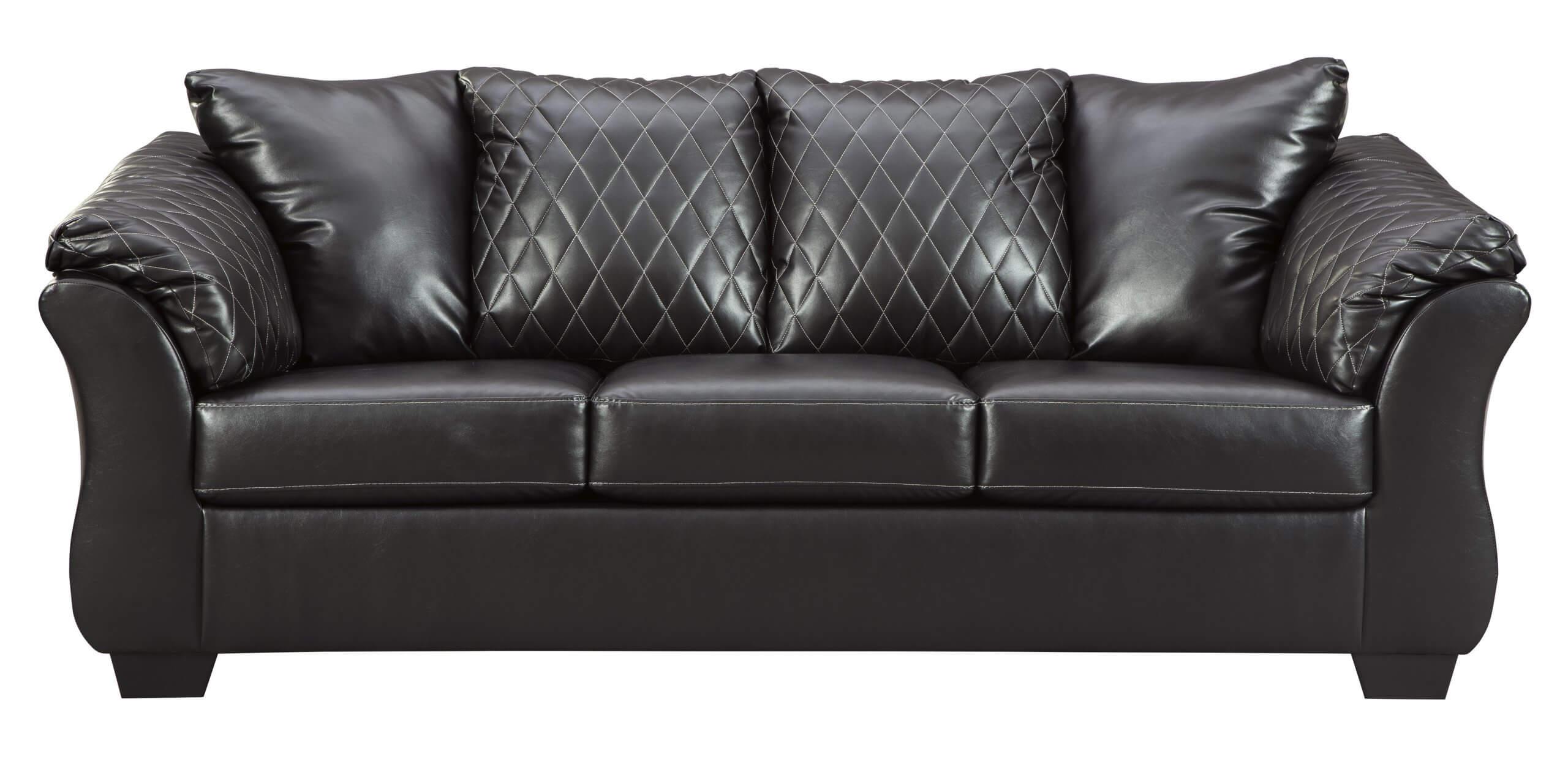 Betrillo Black Sofa and Loveseat Set | Urban Furniture Outlet
