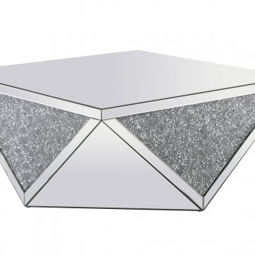 Modern Square Royal Cut Crystal Coffee Table