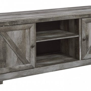 Wynnlow Weathered Grey TV Stand