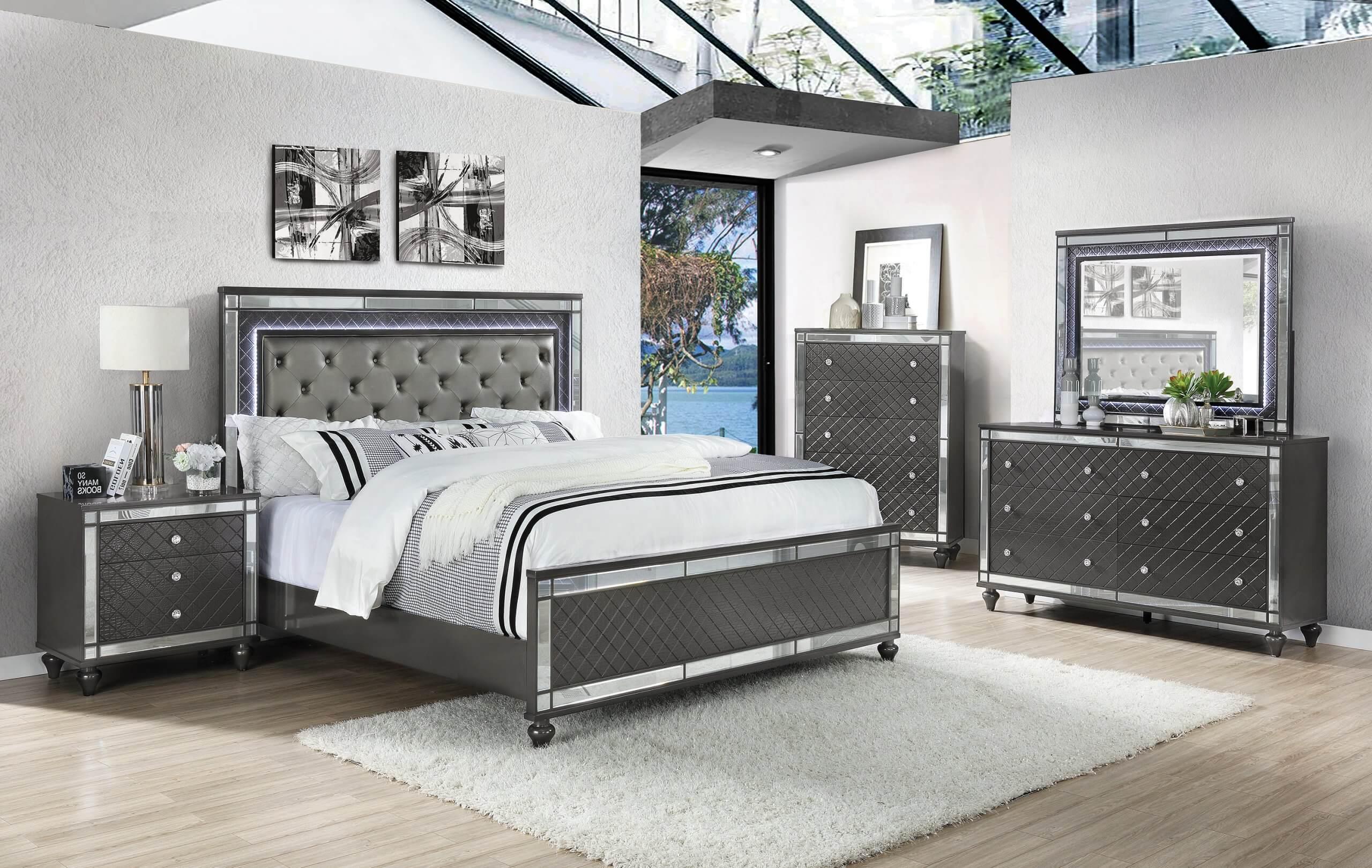 Refino Bedroom Set Urban Furniture Outlet