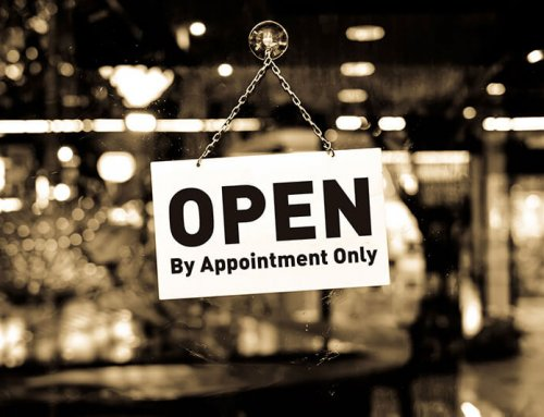 Now OPEN By Appointment!