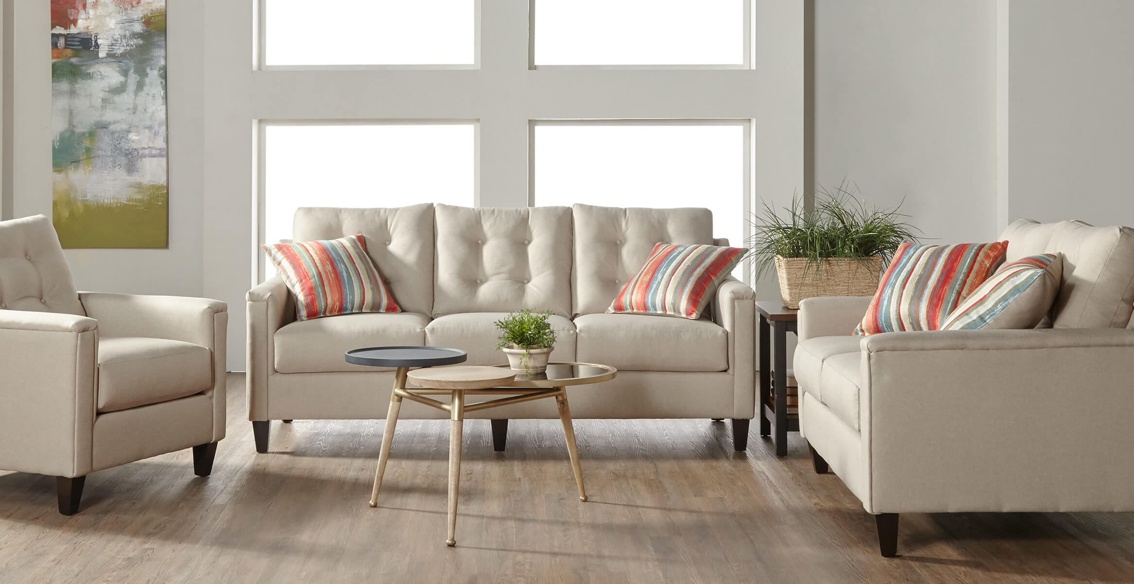 6800 Jitterbug Khaki Living Room Collection • Urban Furniture Outlet