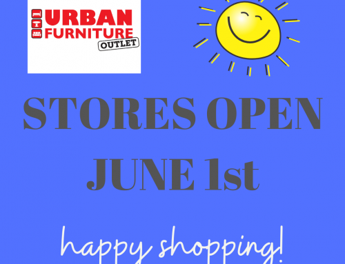 Urban Furniture Outlet REOPEN to Public June 1, 2020