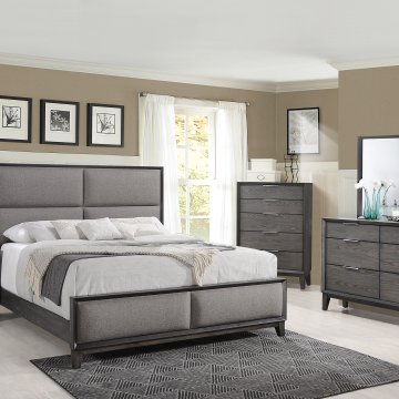 Florian Ash Grey Bedroom Set