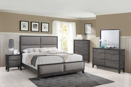 Florian Ash Grey Bedroom Set