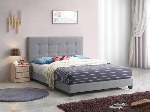 Rigby Grey Platform Style Bed