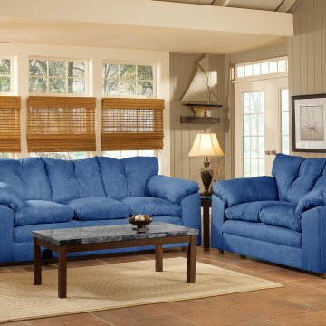 Bulldozer Royal Sofa and Loveseat