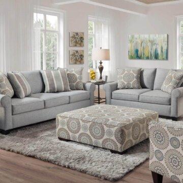 Vivian Spa Living Room Set