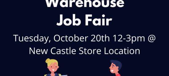 Sales & Warehouse Job Fair