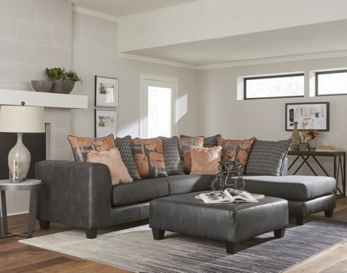Booyah Gray Sectional