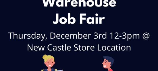 Dec 3 Job Fair
